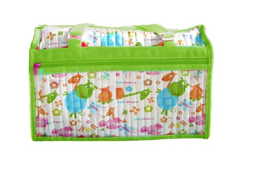 Baby Dreams Diaper Bag Green
