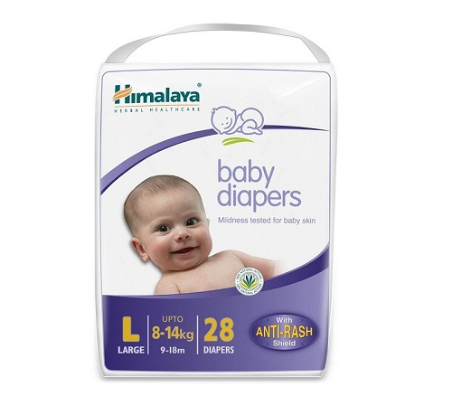 Himalaya Baby Large Size Diapers 28 Count