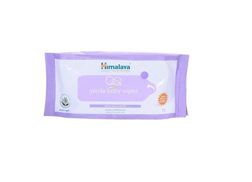 Himalaya Baby Wipes 1 Packet 72x3Pic