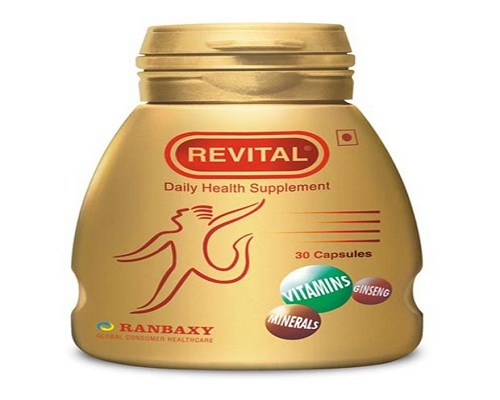 Revital Ranbaxy 30 Capsules