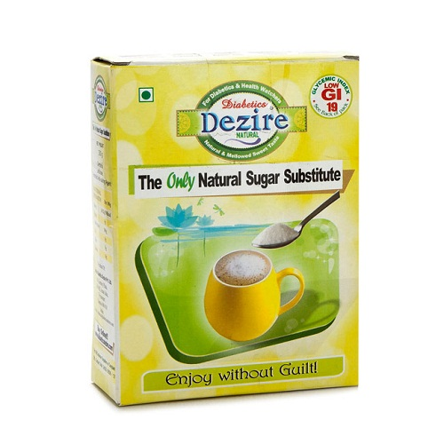 DIABETICS DEZIRE NATURAL SUGAR SUBSTITUTE- 250 Gms Family Pack