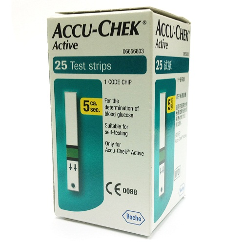 ACCU-CHEK ACTIVE 25 STRIPS