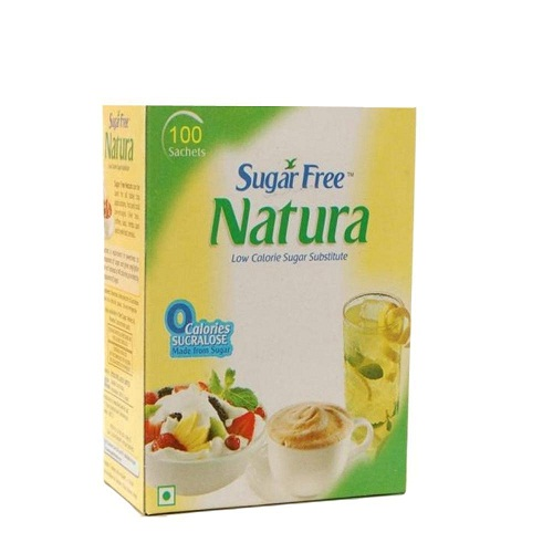 Sugar Free Natura Powder 100 Sachets  Pack of 2